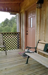 Cabin 1 Porch